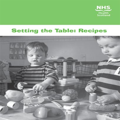 Setting the table recipes